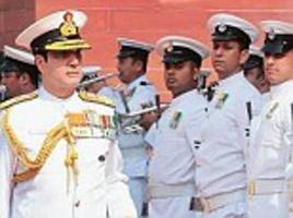 indian navy to launch satyameva jayate credo with a new logo
